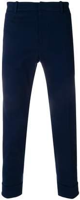 Paolo Pecora turn up hem trousers