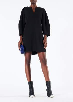 Tibi Structured Crepe Sculpted Sleeve Dress