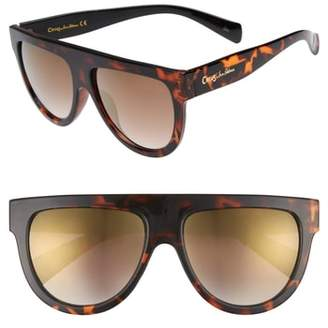 Sam Edelman 68mm Flat Top Sunglasses
