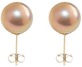 ORA Pearls - Small Gold Pearl Stud Earrings 9ct Gold