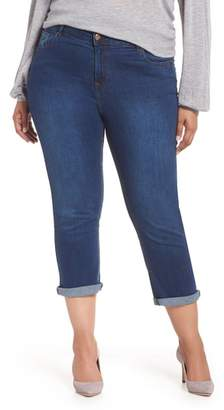 Evans Roll-Up Crop Jeans
