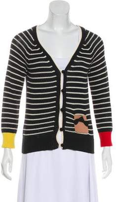 Sonia Rykiel Sonia by Long Sleeve Knit Cardigan