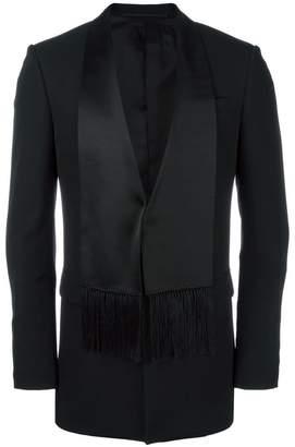 Givenchy scarf lapel blazer