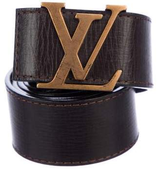 Louis Vuitton Utah Initiales 40MM Belt
