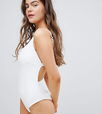Wolfwhistle Wolf & Whistle Strappy Back Swimsuit DD - G Cup