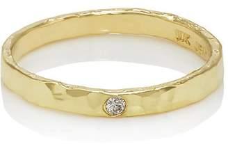 Jennifer Meyer Women's Diamond-Accented Hammered Ring