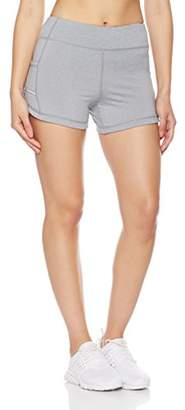 7Goals Women's Running Short with Reflective Trim Pocket