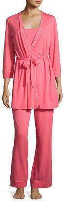 Cosabella Bella Maternity 3-Piece Pajama Set $155 thestylecure.com