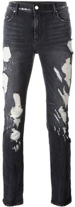 RtA Faded Destroy skinny jeans