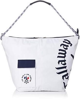 Callaway (キャロウェイ) - [キャロウェイアパレル] トートバッグ 大容量 (ポリオックスシリーズ) [ 241-8281514 / Tote Bag ] バッグ ゴルフ 030_ホワイト