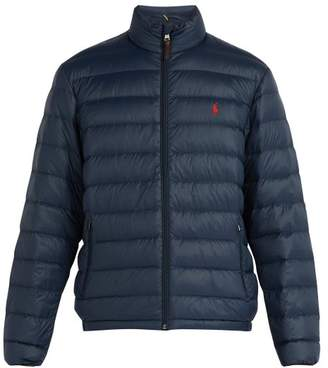 Polo Ralph Lauren Quilted Down Filled Jacket - Mens - Navy