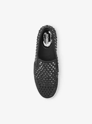 MICHAEL Michael Kors Keaton Stud-Embellished Slip-On Sneaker