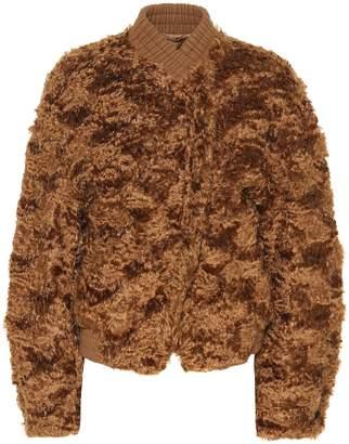 Jil Sander Mohair and cotton-blend jacket