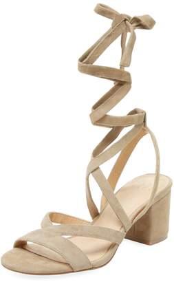 ALEX+ALEX Women's Lace-Up Block Heel Sandal