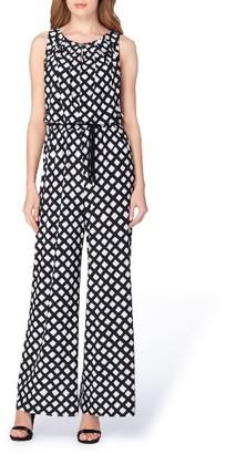 Women's Tahari Print Jersey Jumpsuit $138 thestylecure.com