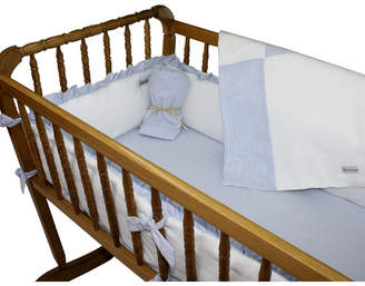 Wendy Anne Pique Seersucker Cradle Bedding Set