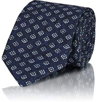Isaia Men's Medallion Wool-Silk Necktie