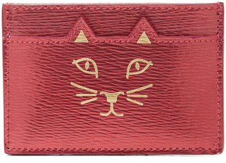 Charlotte Olympia Feline Card Holder $195 thestylecure.com