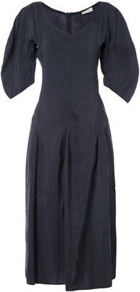 Lemaire puff sleeve dress