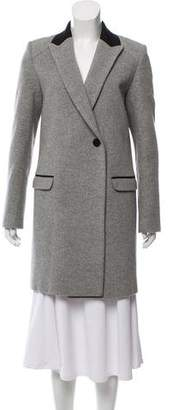 Zadig & Voltaire Knee-Length Wool Coat