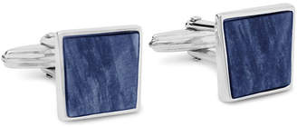 Lanvin Twisted Plaque Square Cuff Links