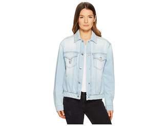Versace Blouson Denim/Jeans Donna Women's Clothing