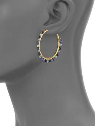 """Mary Louise Designs Filigree Hoop Earrings/2"""""""