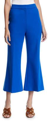 Kobi Halperin Ayla Cropped Bell-Bottom Pants