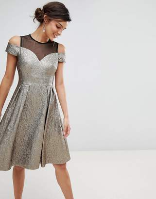 Coast Jiana metallic party dress