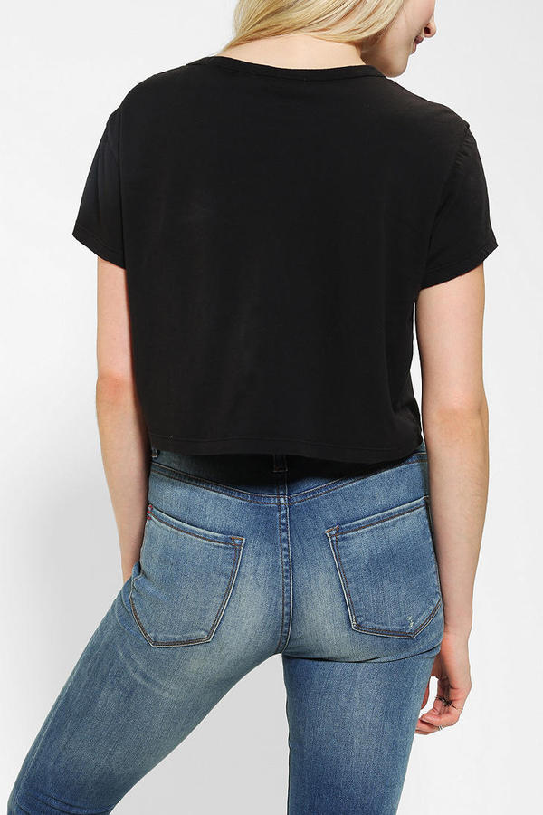 Truly Madly Deeply Lips Cropped Tee