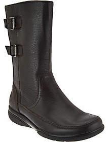 Clarks Leather Waterproof Mid Calf Boots -Kearns Rain