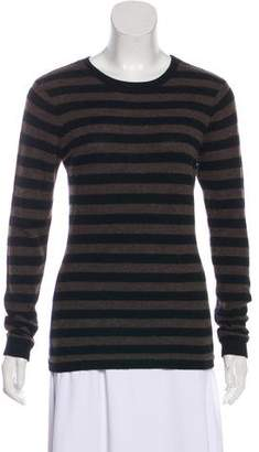 Autumn Cashmere Striped Long Sleeve Top