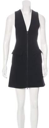 Alaia Wool-Blend Pinafore Dress w/ Tags
