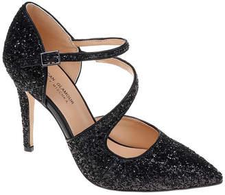 Badgley Mischka AMERICAN GLAMOUR American Glamour Womens Adela Pumps Buckle Pointed Toe Stiletto Heel