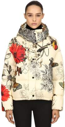 Moncler Caille Printed Nylon Down Jacket