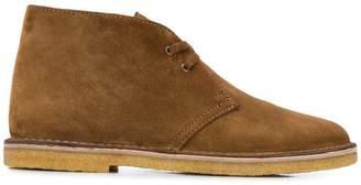 Saint Laurent Oran lace-up boots