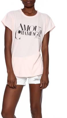 The Laundry Room Amour Champagne Tee $54 thestylecure.com