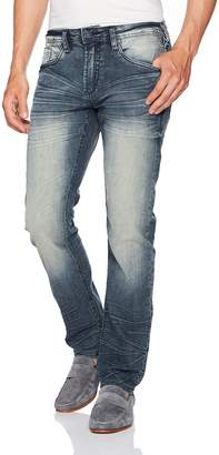 58b83f3c Buffalo David Bitton Men's Evan-x Slim Straight Leg Stretch Denim Fashion  Jean