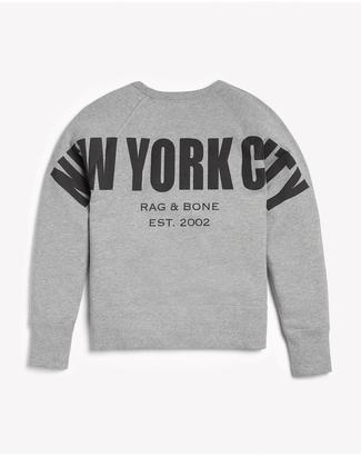 New york city sweatshirt $195 thestylecure.com