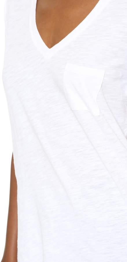 Madewell Whisper Cotton V Neck Pocket Tee 13