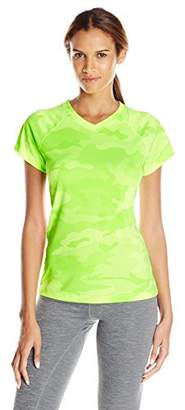 Champion Women's Short Sleeve Doubledry Performance T-Shirt $18 thestylecure.com