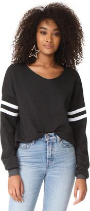 Wildfox 5AM Sweatshirt $108 thestylecure.com