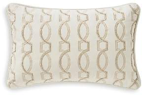 Lancaster Beaded Embroidered Decorative Pillow, 12 x 18