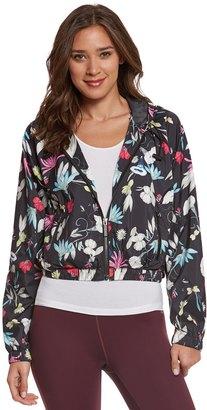 Seafolly Women's Flower Festival Wind Breaker Zip Hoodie Jacket 8151318 $141 thestylecure.com