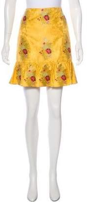 Gucci 2016 Jacquard Skirt