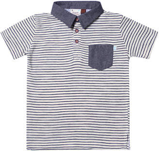 Hudson FORE!! AXEL & Fore Axel & Stripe Jersey Polo