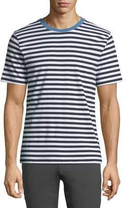 Theory Men's Classic Bay Striped T-Shirt