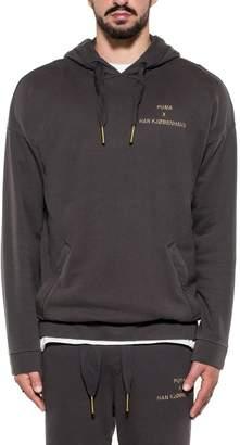 Puma Gray Hooded Sweatshirt