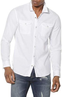 John Varvatos Long Sleeve Western Shirt