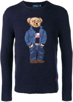 Polo Ralph Lauren teddy bear knitted jumper